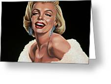 Marilyn Monroe Greeting Card by Paul  Meijering