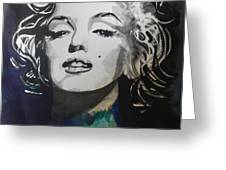 Marilyn Monroe..2 Greeting Card by Chrisann Ellis