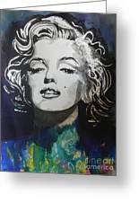 Marilyn Monroe..2 Greeting Card by Chrisann Ellis