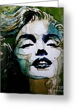 Marilyn No10 Greeting Card by Paul Lovering