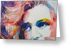 Marilyn No11 Greeting Card by Paul Lovering