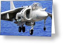 Marine Corps Harrier Greeting Card by Mountain Dreams