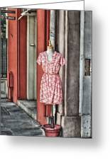 Market Fashion Greeting Card by Brenda Bryant