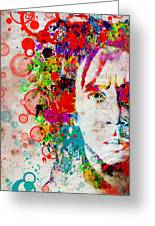 Marley 4 Greeting Card by MB Art factory