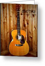 Martin Guitar - The Eric Clapton Limited Edition Greeting Card by Bill Cannon