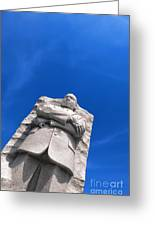 Martin Luther King Greeting Card by Olivier Le Queinec