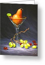 Martini Greeting Card by Sean Taber