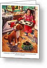 Mary Mary Quite On Great Meals Greeting Card by David Condry