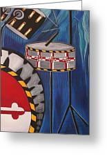 Maryland Drums Greeting Card by Kate Fortin
