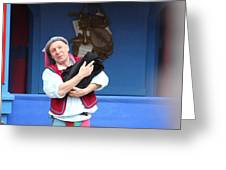 Maryland Renaissance Festival - A Fool Named O - 121219 Greeting Card by DC Photographer