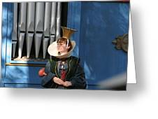 Maryland Renaissance Festival - A Fool Named O - 12128 Greeting Card by DC Photographer
