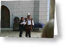 Maryland Renaissance Festival - Hack And Slash - 12124 Greeting Card by DC Photographer