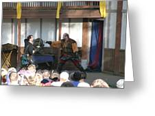 Maryland Renaissance Festival - Hack And Slash - 12126 Greeting Card by DC Photographer