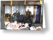 Maryland Renaissance Festival - Hack And Slash - 12128 Greeting Card by DC Photographer