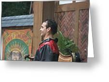 Maryland Renaissance Festival - Johnny Fox Sword Swallower - 121271 Greeting Card by DC Photographer