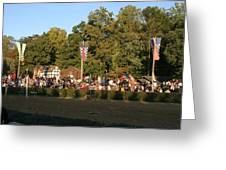 Maryland Renaissance Festival - Jousting and Sword Fighting - 12124 Greeting Card by DC Photographer