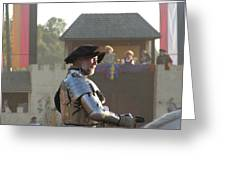 Maryland Renaissance Festival - Jousting And Sword Fighting - 121263 Greeting Card by DC Photographer