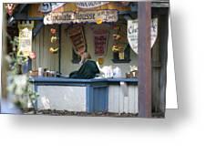 Maryland Renaissance Festival - Merchants - 121252 Greeting Card by DC Photographer