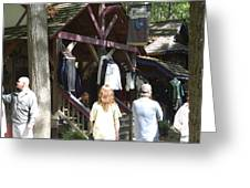 Maryland Renaissance Festival - Merchants - 121264 Greeting Card by DC Photographer