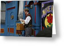 Maryland Renaissance Festival - Mike Rose - 12127 Greeting Card by DC Photographer