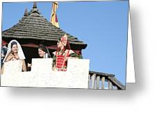 Maryland Renaissance Festival - Open Ceremony - 12123 Greeting Card by DC Photographer