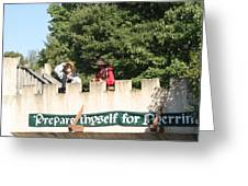 Maryland Renaissance Festival - Open Ceremony - 12129 Greeting Card by DC Photographer