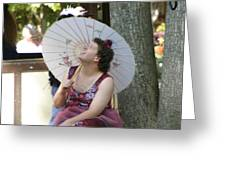 Maryland Renaissance Festival - People - 121273 Greeting Card by DC Photographer