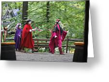 Maryland Renaissance Festival - People - 121289 Greeting Card by DC Photographer