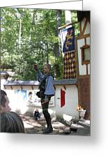 Maryland Renaissance Festival - Puke N Snot - 12122 Greeting Card by DC Photographer