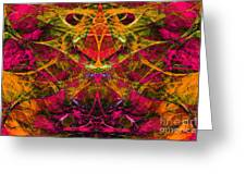 Masquerade 20140128 Greeting Card by Wingsdomain Art and Photography