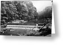 Mcconnell Mills B W Wat 255 Greeting Card by G L Sarti