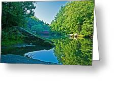 Mcconnell Mills Wat 238 Greeting Card by G L Sarti