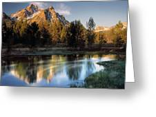 Mcgown Peak Greeting Card by Leland D Howard