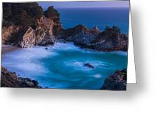 Mcway Falls Sunset Greeting Card by About Light  Images