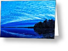 Meddybemps Blues 3 Greeting Card by Bill Caldwell -        ABeautifulSky Photography