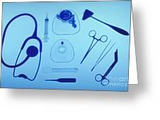 Medical Equipment Greeting Card by Blair Seitz