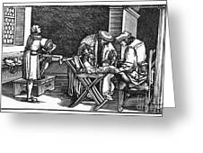 Medicine: Surgery, 1537 Greeting Card by Granger