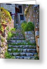 Medieval Saint Paul De Vence 1 Greeting Card by David Smith