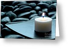 Meditation  Greeting Card by Olivier Le Queinec