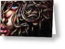 Medusa No. two Greeting Card by Hiroko Sakai
