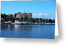 Melbourne Harbor Greeting Card by Kay Gilley