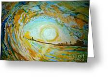 Mellow Yellow Greeting Card by Michelle Reid