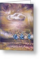Melody Greeting Card by Karina Llergo Salto