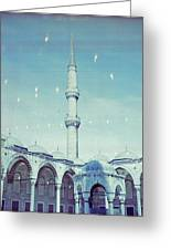 Memories Of Istanbul Greeting Card by Alda Villiljos