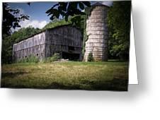 Memories Of Peak's Mill Greeting Card by Wayne Stacy