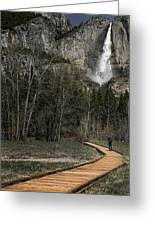 Memories Of Yosemite Greeting Card by Eduard Moldoveanu