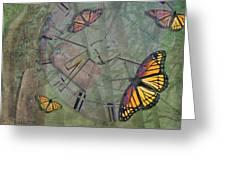 Memory Is Fleeting Memories Persist Greeting Card by Marianne Campolongo