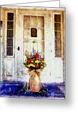 Memory Lane Greeting Card by Janine Riley