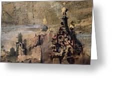 Memory Of Spain Greeting Card by Victor Hugo