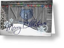MEMPHIS GRIZZLIES Greeting Card by Joe Hamilton
